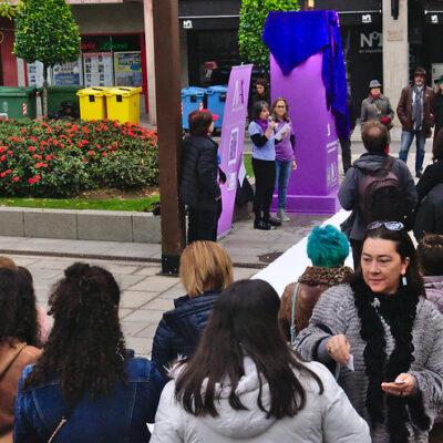 Imágenes de la conmemoración del Día Contra la Violencia del Género