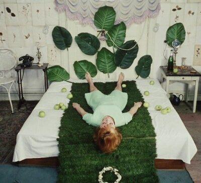 Fotograma de la película Las Margaritas, de Vera Chytilová